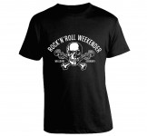 T-Shirt - Walldorf Weekender Skull, Black