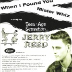 Single - Jerry Reed - When I Found You, Mister Whiz