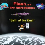 CD - Flash And The Retro Rockets - Birth Of The Beat