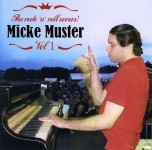 CD - Micke Muster - The Rock'n'Roll Covers! Vol. 1