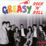 LP - VA - Greasy Rock and Roll Vol. 10