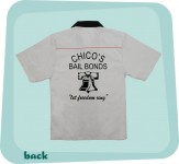 Bowlingshirt - Chico's Bail Bonds
