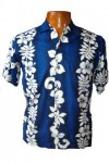 Hawaii-Shirt For Kids - San Diego Blue