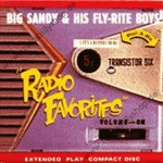 CD - Big Sandy & His Fly-Rite Boys - Radio Favorites EP (1999)
