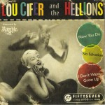 CD-Single - Lou Cifer And The Hellions