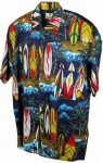 Hawaii - Shirt - Jungle Surf, Blue