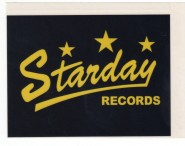 Aufkleber - Starday Records