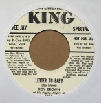 Single - Roy Brown - Shake ?Em Up Baby / Letter To Baby