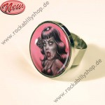 Ring - Bettie Page - Zombie Bettie