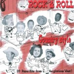 CD - VA - Rock'n'Roll Country Style Vol. 2