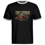 Ringer-Shirt - Part Records Hot Rod, Black