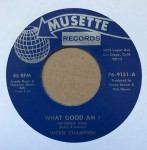 Single - Micky Champion - What Good Am I / The Hurt Is Till On