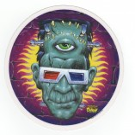 Dirty Donny Aufkleber - God of 3D