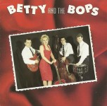 CD - Betty & The Bops - self titled