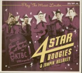 CD - VA - Play The Music Louder - 4 Star Boogies & Jumpin' Hillbilly