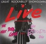LP - VA - Great Rockabilly Showdown - The Hot Rod Gang meets The Ringlets Trio