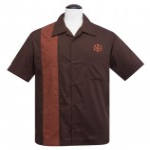Steady-Shirt - Herringbone Brown