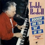 LP - Teddy Redell - Rockin on the 88 in '88