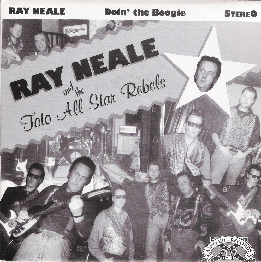 ROCKABILLYshop | Single - Ray Neale and the Toto All Star Rebels ...